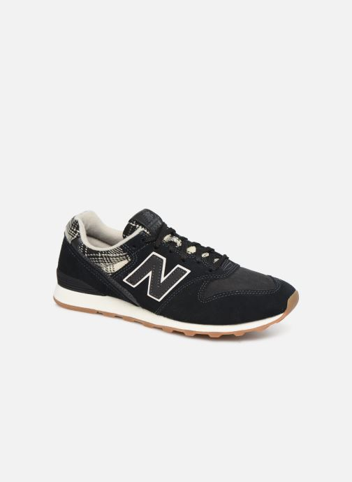 Trainers New Balance WL996 B Black detailed view/ Pair view