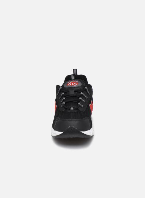Sneaker New Balance ML615 D schwarz schuhe getragen
