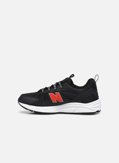 Sneaker New Balance ML615 D schwarz ansicht von vorne
