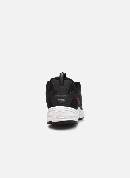 Sneaker New Balance ML615 D schwarz ansicht von rechts