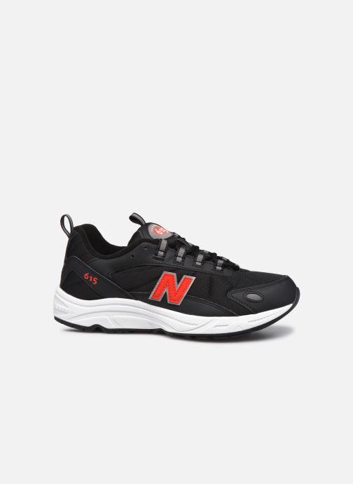 Sneaker New Balance ML615 D schwarz ansicht von hinten