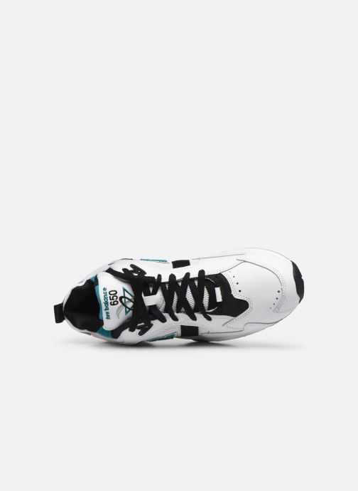 Sneakers New Balance ML650 D Bianco immagine sinistra