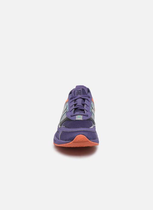 Baskets New Balance MSXRC D Violet vue portées chaussures