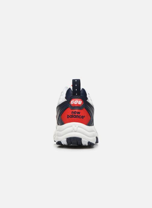 Sneaker New Balance MX608 D SMU weiß ansicht von rechts