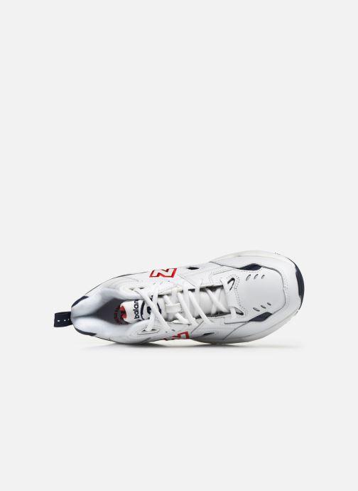 Sneaker New Balance MX608 D SMU weiß ansicht von links