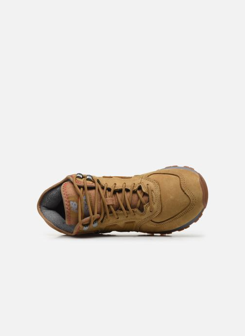 Sneaker New Balance MH574 D braun ansicht von links