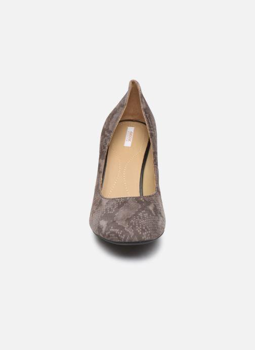 Escarpins Geox D Audalies High A D723XA Gris vue portées chaussures