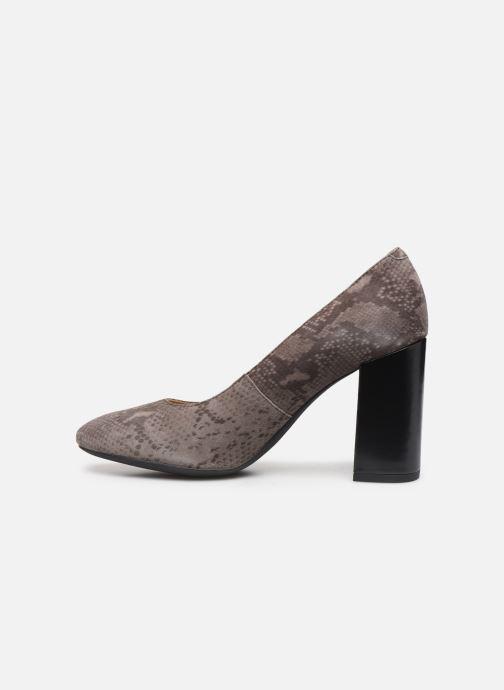 Zapatos de tacón Geox D Audalies High A D723XA Gris vista de frente