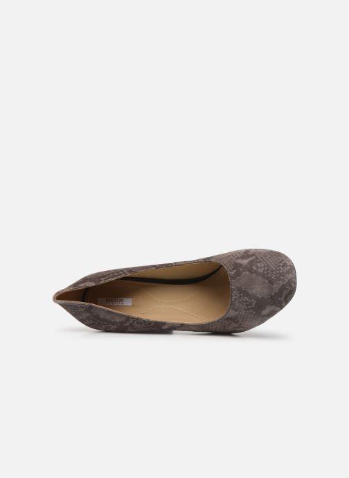 Zapatos de tacón Geox D Audalies High A D723XA Gris vista lateral izquierda
