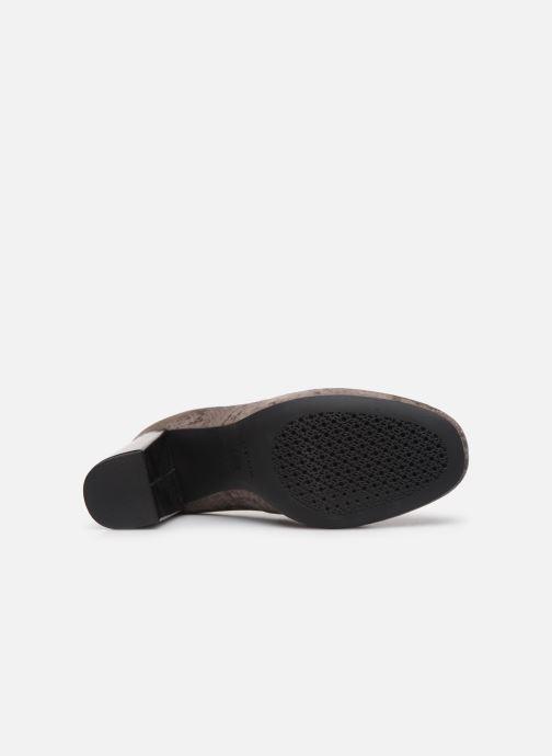Zapatos de tacón Geox D Audalies High A D723XA Gris vista de arriba