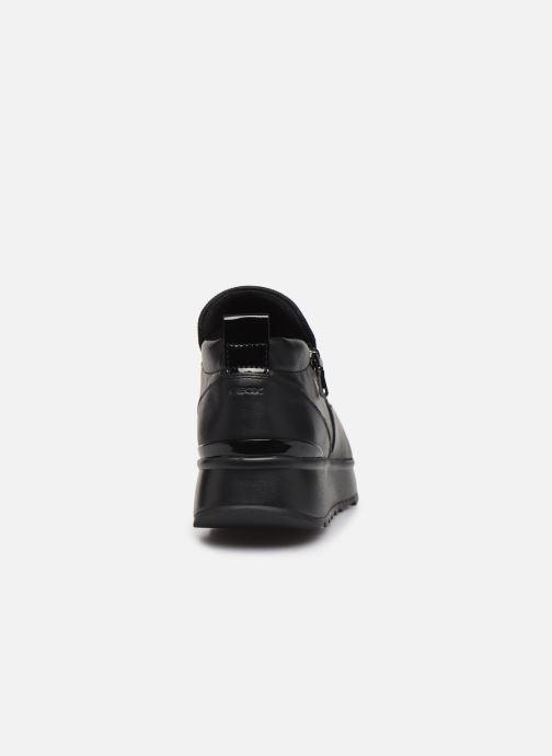 Sneakers Geox D Gendry A D745TA Nero immagine destra