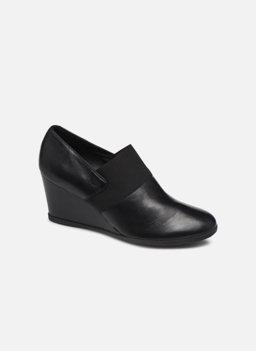 Bottines et boots Geox D Inspiration Wedge D745ZA Noir vue détail/paire