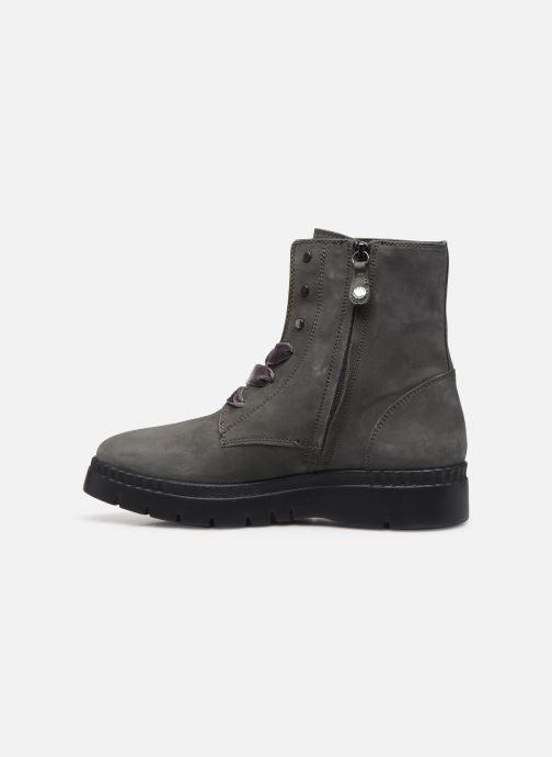 Boots en enkellaarsjes Geox D Emsley E D747BE Grijs voorkant
