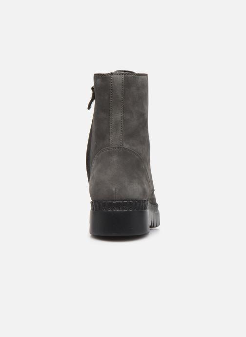Boots en enkellaarsjes Geox D Emsley E D747BE Grijs rechts