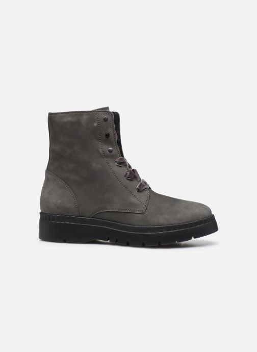 Boots en enkellaarsjes Geox D Emsley E D747BE Grijs achterkant