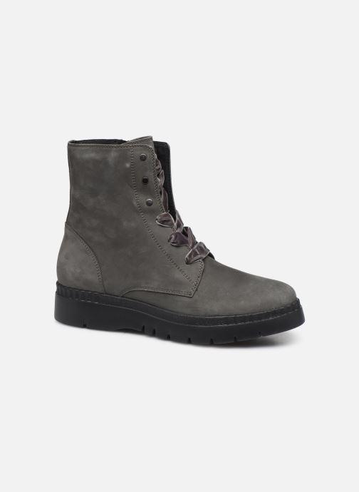 Boots en enkellaarsjes Geox D Emsley E D747BE Grijs detail