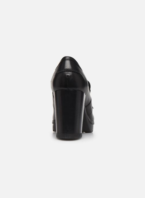 Loafers Geox D Abrienne D D747ED Black view from the right