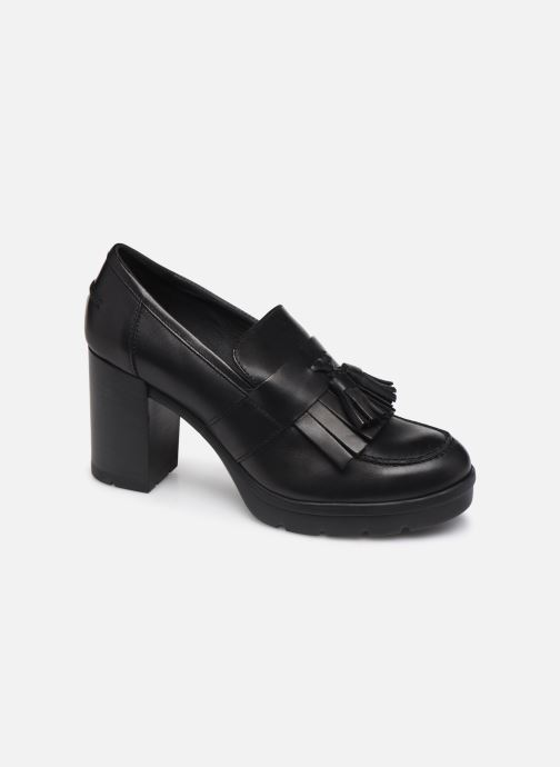 Loafers Geox D Abrienne D D747ED Black detailed view/ Pair view