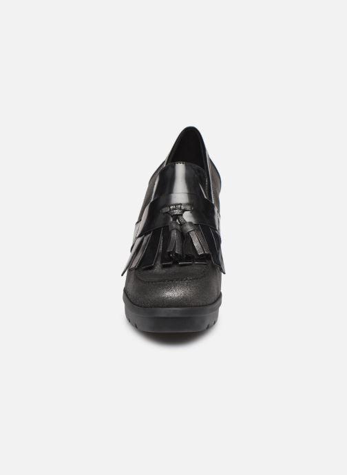 Mocassins Geox D Abrienne D D747ED Gris vue portées chaussures