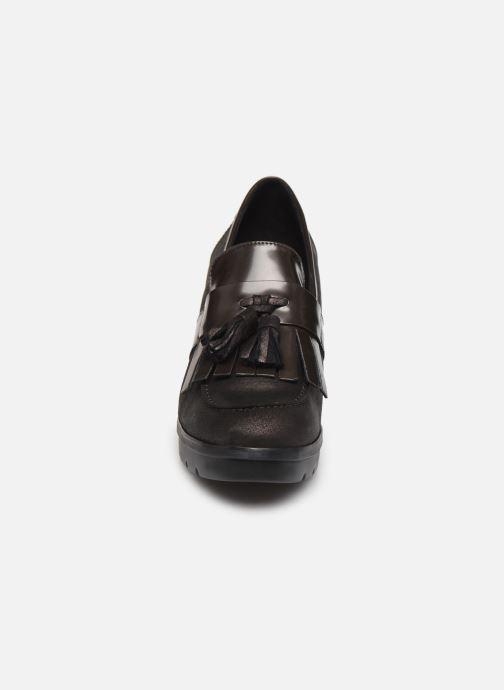 Mocassins Geox D Abrienne D D747ED Marron vue portées chaussures