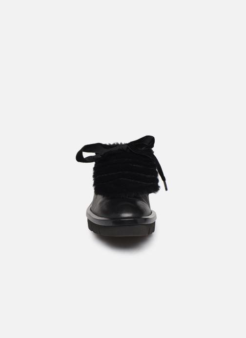 Zapatos con cordones Geox D Quinlynn Plus A D747FA Negro vista del modelo