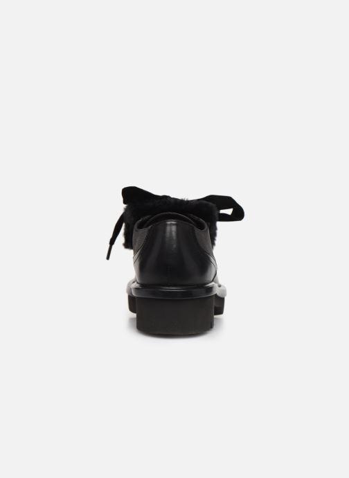 Zapatos con cordones Geox D Quinlynn Plus A D747FA Negro vista lateral derecha