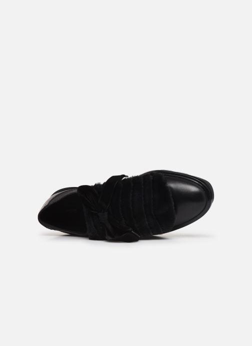 Zapatos con cordones Geox D Quinlynn Plus A D747FA Negro vista lateral izquierda