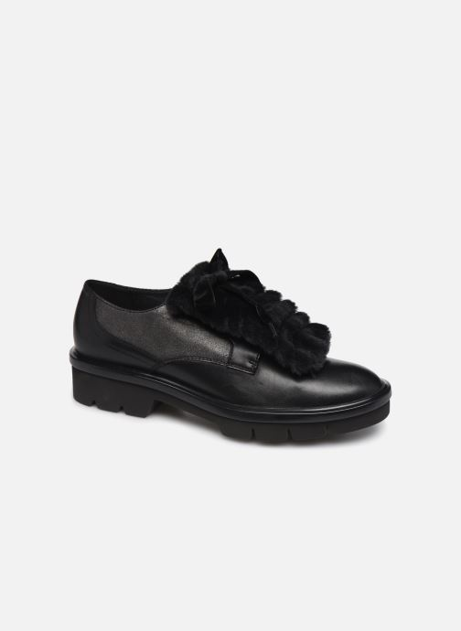 Zapatos con cordones Geox D Quinlynn Plus A D747FA Negro vista de detalle / par