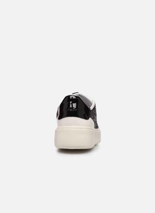 Sneaker Geox D Nhenbus E D848DE weinrot ansicht von rechts