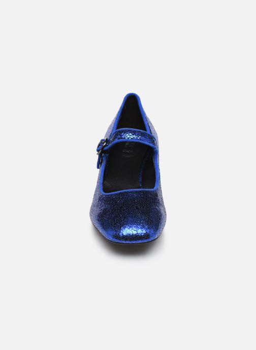 Escarpins Geox D Seyla B D848VB Bleu vue portées chaussures