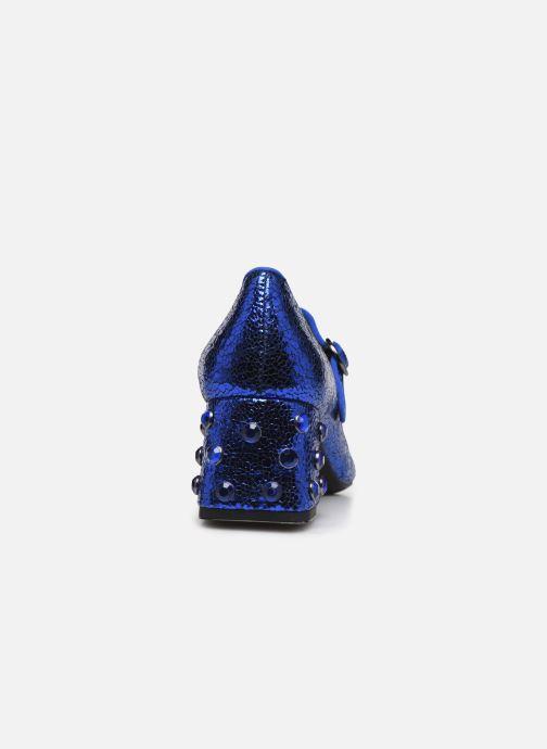 Pumps Geox D Seyla B D848VB blau ansicht von rechts