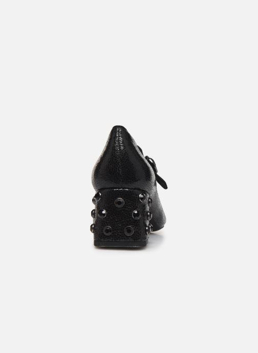 Zapatos de tacón Geox D Seyla B D848VB Negro vista lateral derecha