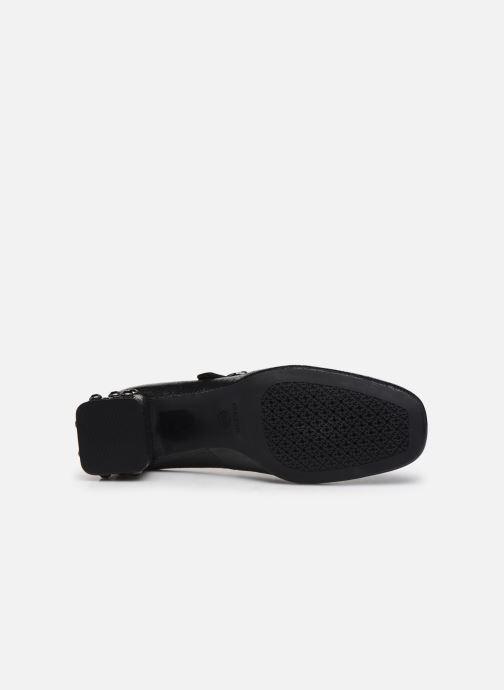 Zapatos de tacón Geox D Seyla B D848VB Negro vista de arriba