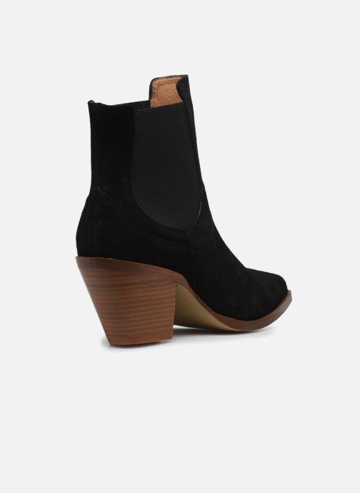 Bottines et boots Made by SARENZA Summer Folk Boots #1 Noir vue face