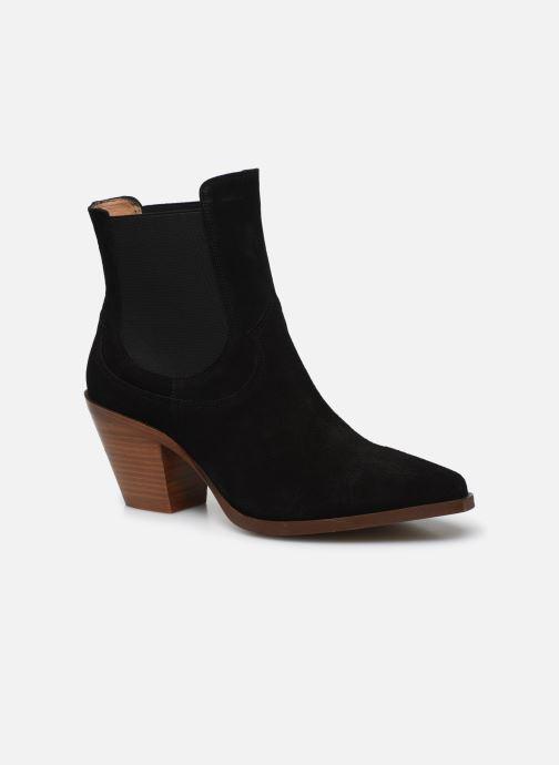 Bottines et boots Made by SARENZA Summer Folk Boots #1 Noir vue droite