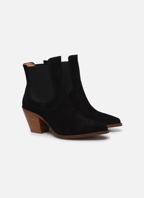 Botines  Made by SARENZA Summer Folk Boots #1 Negro vistra trasera