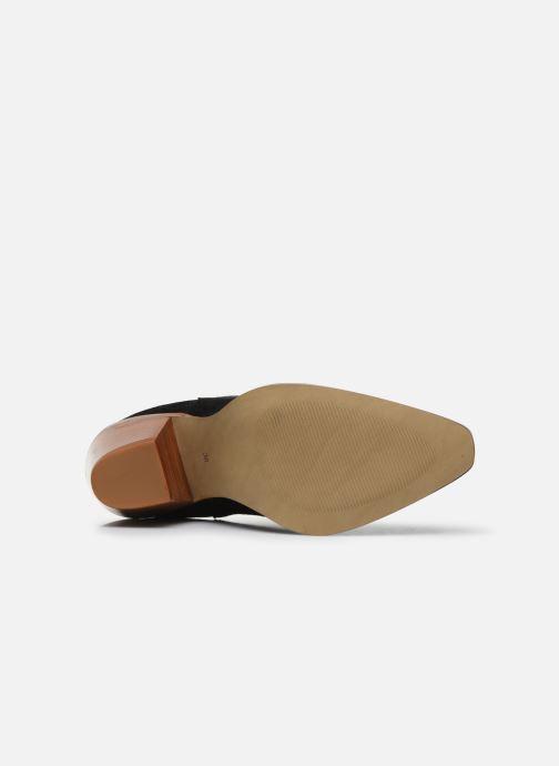 Bottines et boots Made by SARENZA Summer Folk Boots #1 Noir vue haut