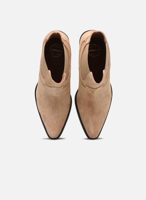 Botines  Made by SARENZA Summer Folk Boots #1 Beige vista del modelo