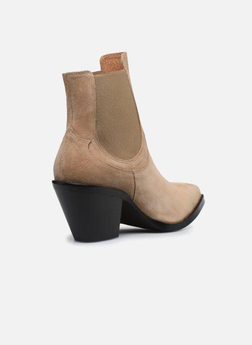 Botines  Made by SARENZA Summer Folk Boots #1 Beige vista de frente