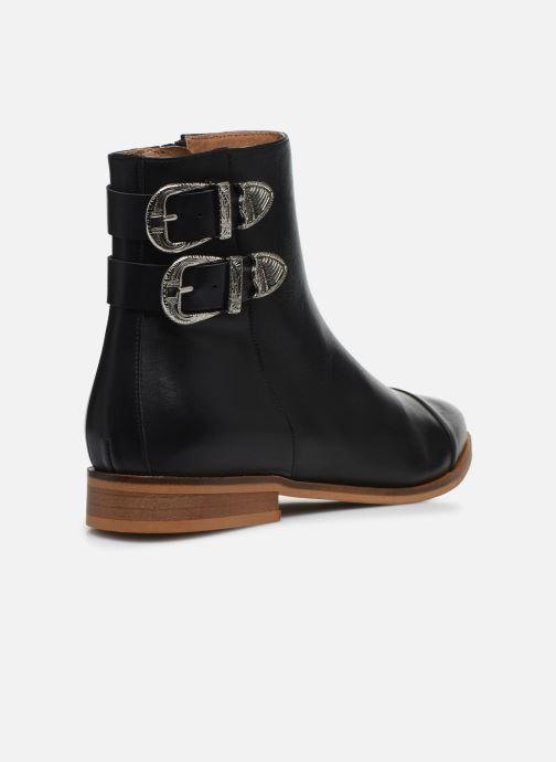 Bottines et boots Made by SARENZA Summer Folk Boots #2 Noir vue face