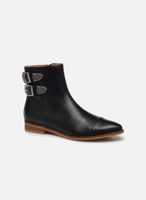 Bottines et boots Made by SARENZA Summer Folk Boots #2 Noir vue droite