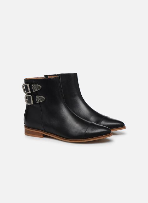 Bottines et boots Made by SARENZA Summer Folk Boots #2 Noir vue derrière