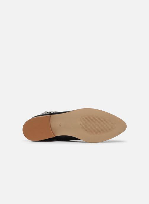 Bottines et boots Made by SARENZA Summer Folk Boots #2 Noir vue haut