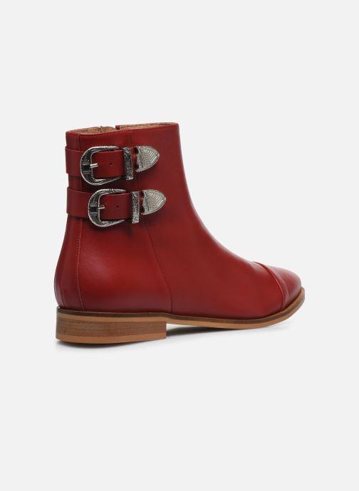 Stivaletti e tronchetti Made by SARENZA Summer Folk Boots #2 Rosso immagine frontale