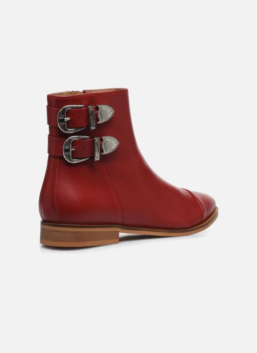 Botines  Made by SARENZA Summer Folk Boots #2 Rojo vista de frente