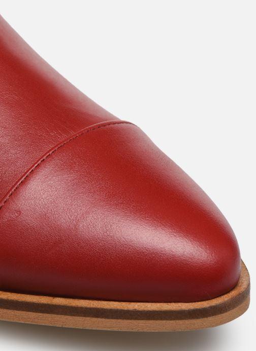 Botines  Made by SARENZA Summer Folk Boots #2 Rojo vista lateral izquierda