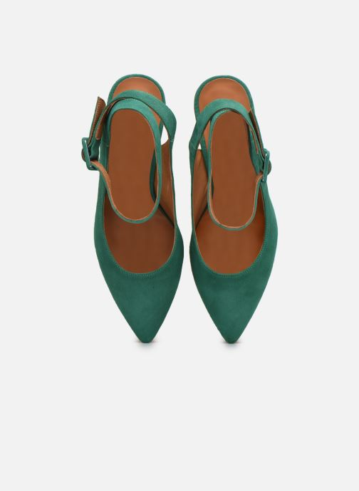 Décolleté Made by SARENZA Riviera Couture Escarpin #1 Verde modello indossato