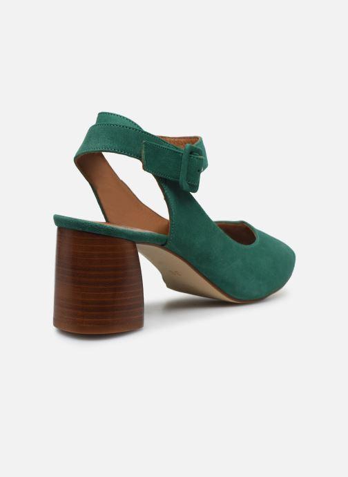 Escarpins Made by SARENZA Riviera Couture Escarpin #1 Vert vue face