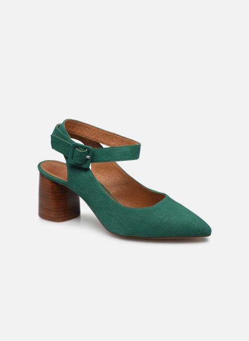 Zapatos de tacón Made by SARENZA Riviera Couture Escarpin #1 Verde vista lateral derecha