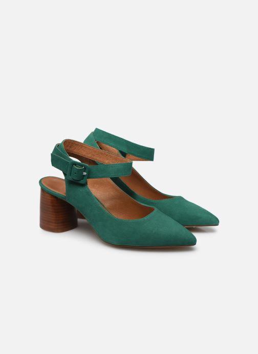 Zapatos de tacón Made by SARENZA Riviera Couture Escarpin #1 Verde vistra trasera